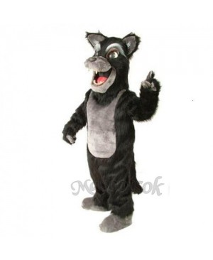 Cute Big Bad Wolf Mascot Costume