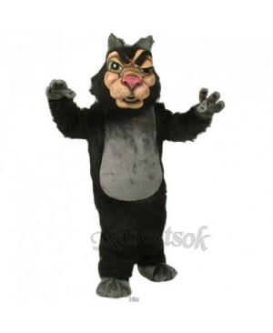Cute New Wolf Mascot Costume