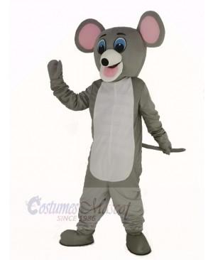 Light Gray Mouse Mascot Costume Adult