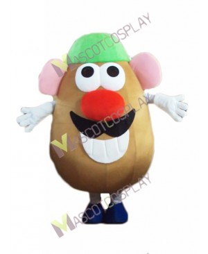 Mr. Potato Mascot Costume with Hat