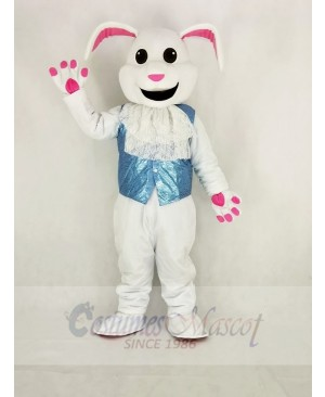 Easter White Rabbit from Alice in Wonderland Mascot Costume Cartoon