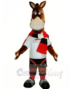 Cute Adult Horse Mascot Costumes Animal