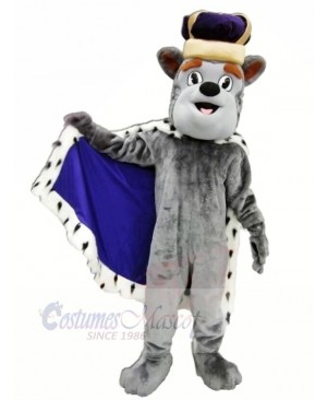 King Duke Dog Mascot Costumes Cartoon