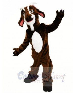 Brown Goat Mascot Costumes