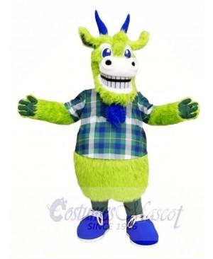 Green Goat Mascot Costumes