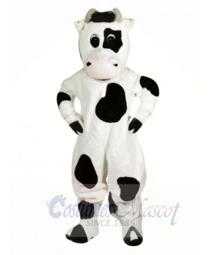 Funny Black and White Cow Mascot Costumes Animal
