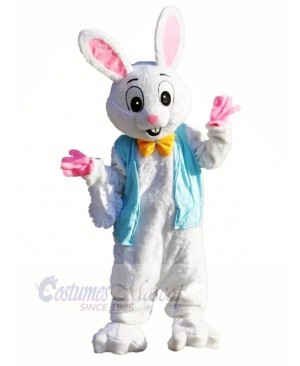 Plush Easter Bunny Mascot Costumes Animal