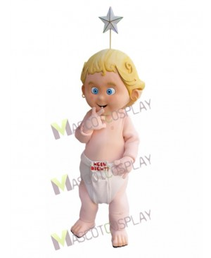 Lucky Baby Angel Holy Night Mascot Costume