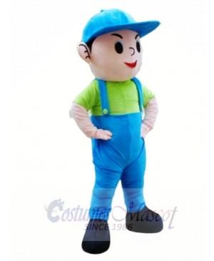 High Quality Happy Schoolboy Mascot Costume
