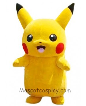 Japanese Cartoon Pikachu Pokemon Pokémon Go Mascot Costume