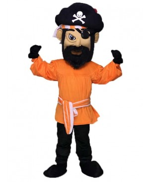Fierce Pirate Mascot Costume