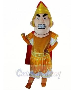 Gold Trojan Mascot Costume