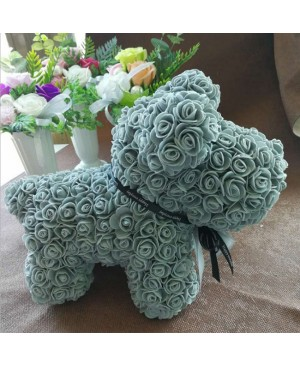 Light Blue Rose Puppy Dog Flower Puppy Dog Best Gift for Mother's Day, Valentine's Day, Anniversary, Weddings and Birthday