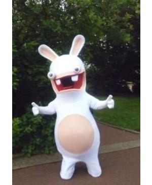 Rayman Raving Rabbit Easter Bunny Mascot Costume Cosplay