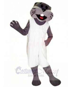 Sporty Otter Mascot Costume