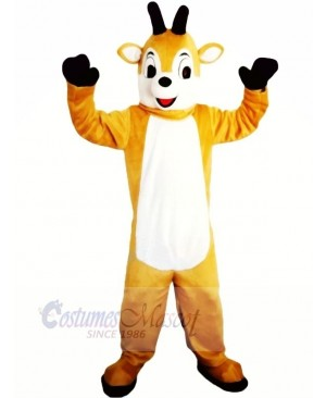 Funny Brown Christmas Deer Mascot Costumes Animal