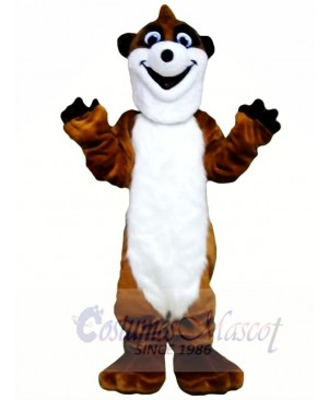 Happy Skunk Mascot Costume Free Shipping