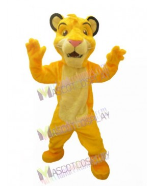Lion King Simba Mascot Costume
