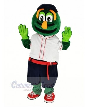 Wally Red Sox with White T-shirt Mascot Costume