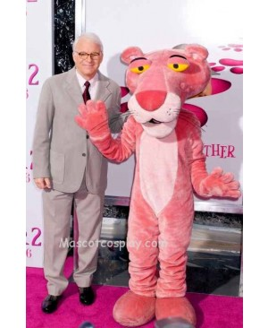 Pink Panther Mascot Character Costume Fancy Dress Outfit