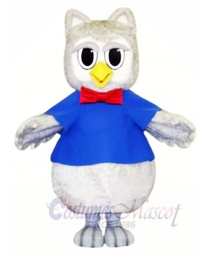 Cute Grey Owl Mascot Costumes