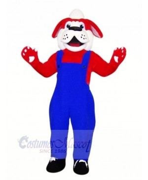 Cute Red Dog with Black Shoes Mascot Costumes Animal