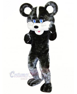 Funny Black Mouse Mascot Costumes Cartoon