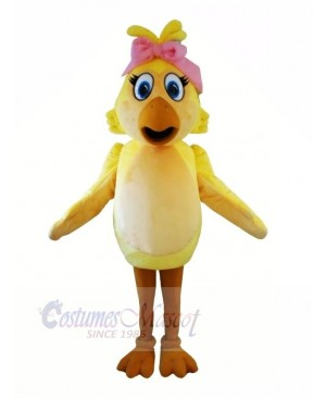 Fashion Chicken with Big Eyes Mascot Costumes Animal