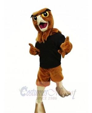 Happy Hawk Adult Mascot Costume