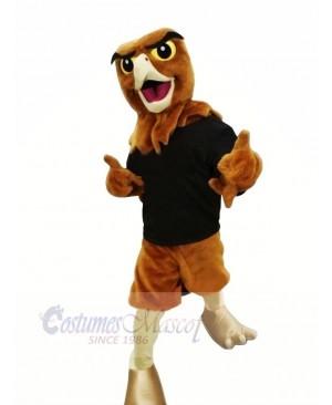 Happy Hawk Mascot Costumes Adult