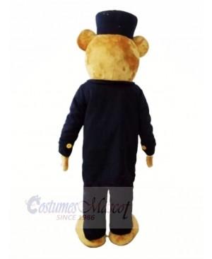 Gentleman Teddy Bear Mascot Costumes Cheap
