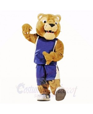 Golden Panther Mascot Costumes College