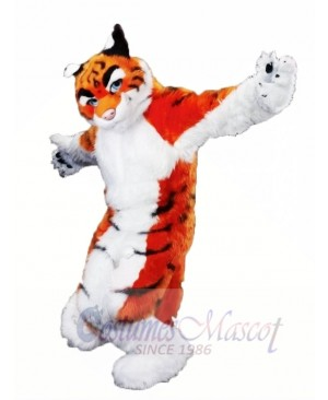 High Quality Furry Tiger Mascot Costumes