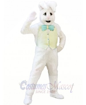 White Bunny Adult Mascot Costumes Animal