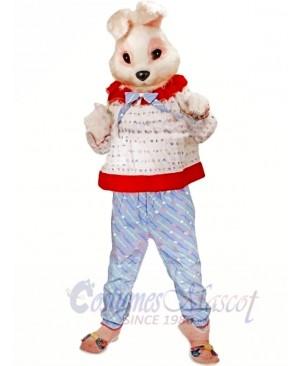 Cute Pink Bunny Rabbit Mascot Costumes