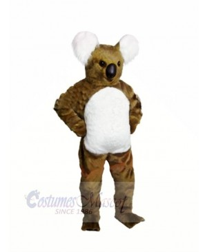 Brown Koala Adult Mascot Costumes Animal