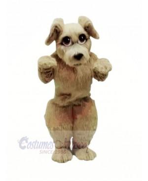 Furry Dog with Big Eyes Mascot Costumes Cartoon