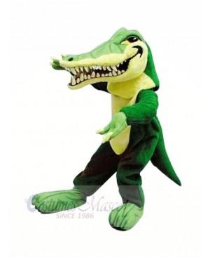 Fierce Gator with Big Mouth Mascot Costumes