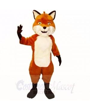 Smiling Friendly Lightweight Fox Mascot Costumes Cartoon