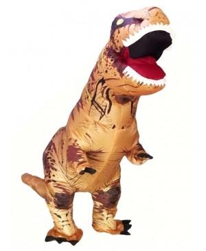 Adult Inflatable T-Rex Tyrannosaurus Costume Dinosaur Halloween Suit Cosplay Fantasy Costume