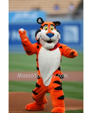 Tony the Tiger Mascot Character Costume Fancy Dress Outfit