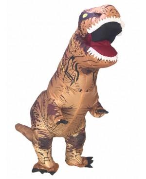 Adult Inflatable T-Rex Costume Dinosaur Halloween Suit Cosplay Fantasy Costume