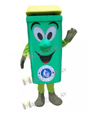 High Quality Waste Ash Bin Mascot Costume Environment Protection Cartoon Recycle Can
