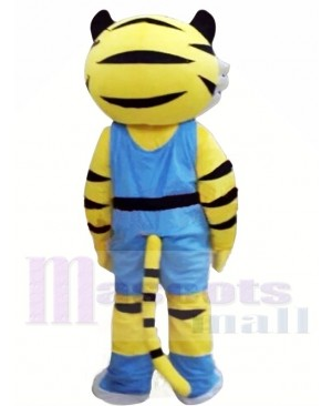 New Style Yellow Tiger Mascot Costumes