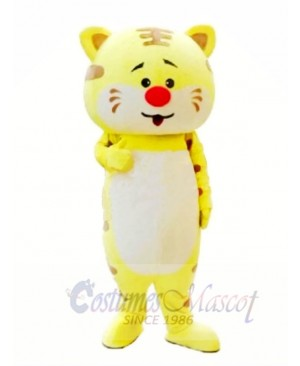 Cute King Tiger Mascot Costumes