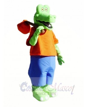 Cute Lightweight Alligator Mascot Costumes