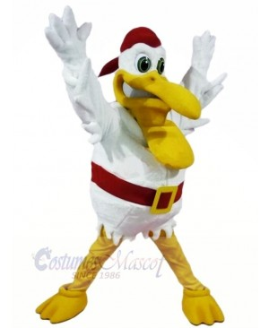 Strong Pelican Mascot Costume Adult