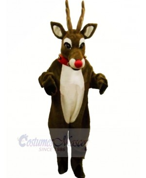 Rudolph Reindeer Mascot Costumes Cartoon