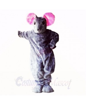 Top Quality Grey Mouse Mascot Costumes Adult