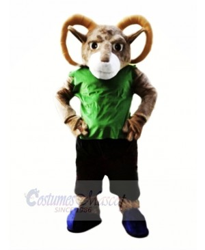 Power Sporty Ram Mascot Costumes Cartoon